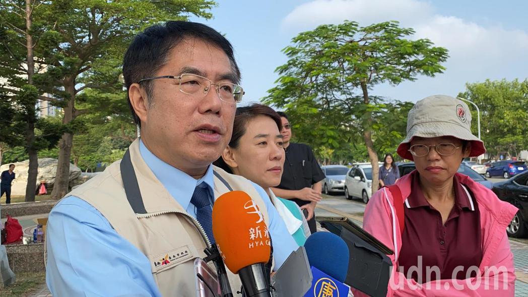 台南市長黃偉哲認為,「一國兩制」在台灣沒什麼市場。記者鄭維真/攝影