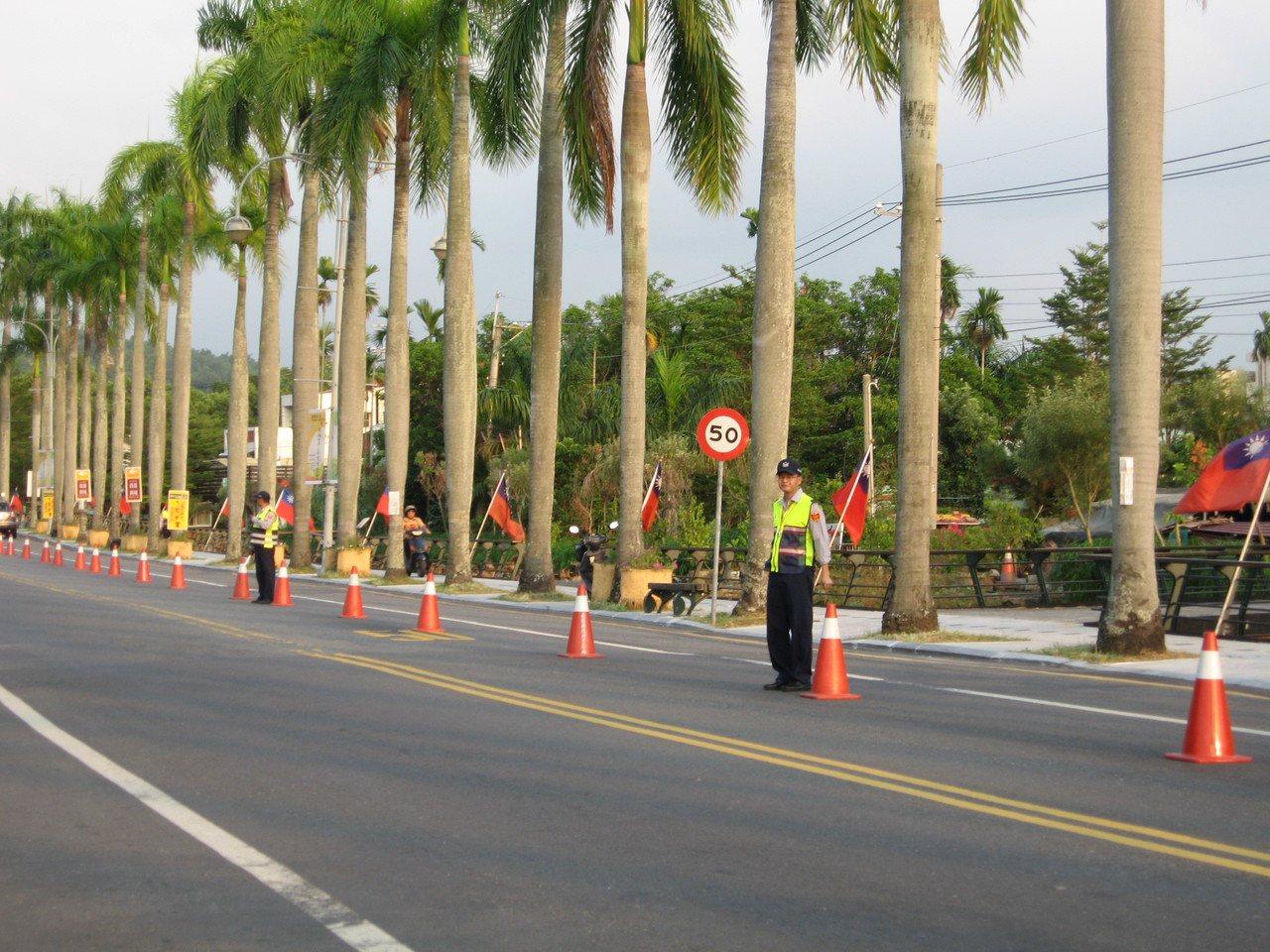 南投世界茶葉博覽會今天開幕,警方在路派員管制禁止停車外,並增加強沿線路口交通疏導...