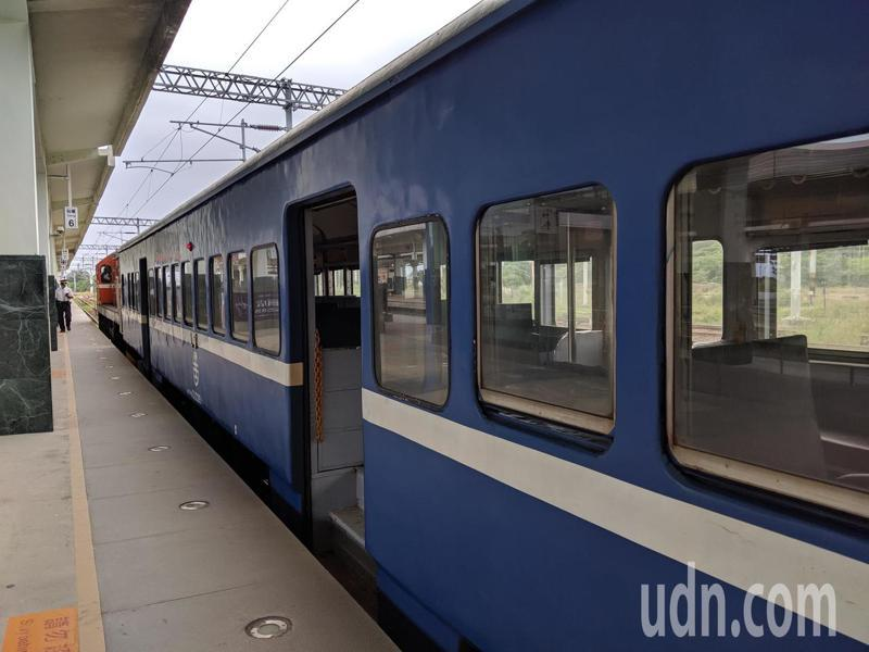有鐵道迷說,在鄉間或城市裡穿梭的藍皮可說是台鐵帶給很多長輩們的鐵路印象,甚至可以說是台鐵的「起家厝」。記者楊德宜/攝影