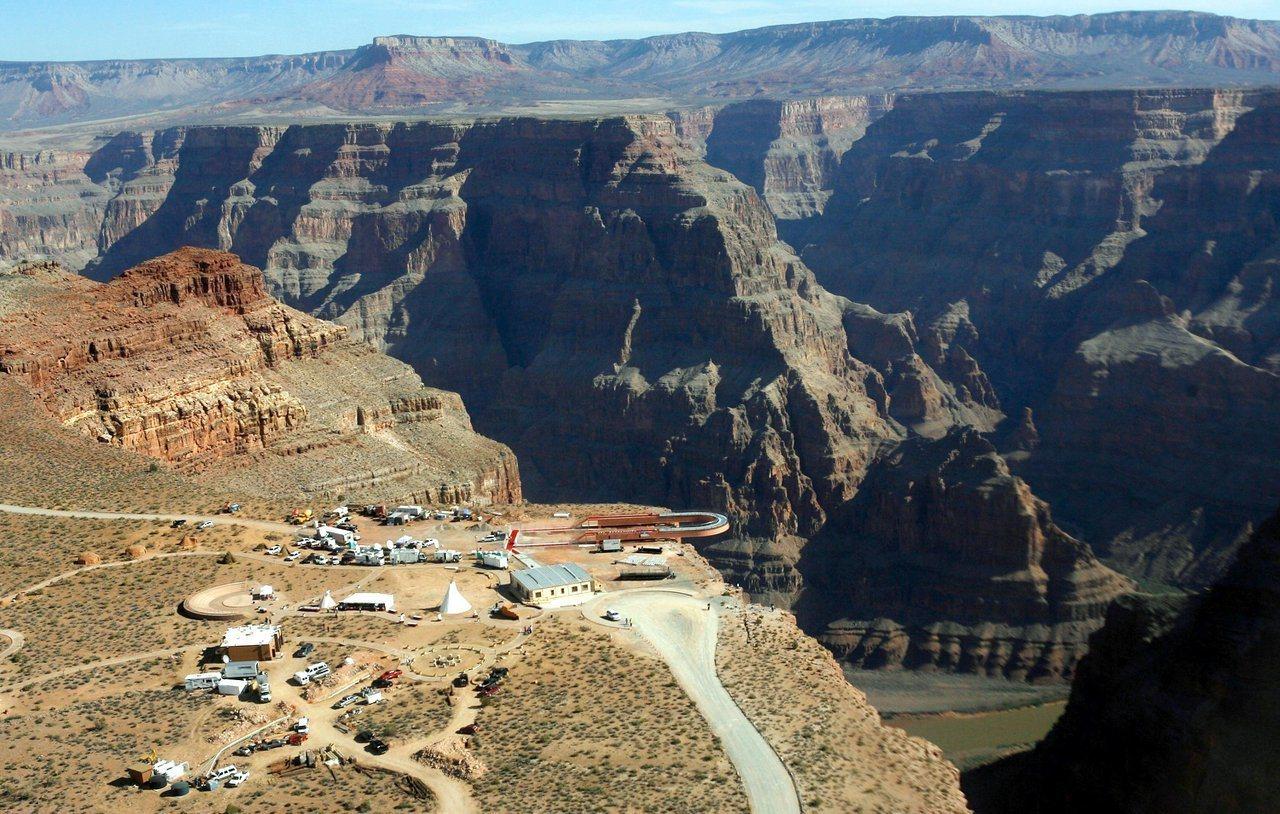 大峽谷(Grand Canyon)國家公園。 美聯社資料照片