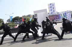 國軍陸空兵力投入府前國慶大會 展現堅實戰力