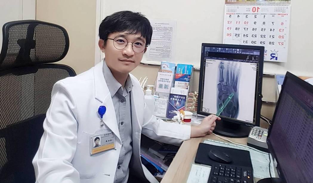 「活力得中山脊椎外科醫院」骨科主任朱柏榮。照片/業者提供