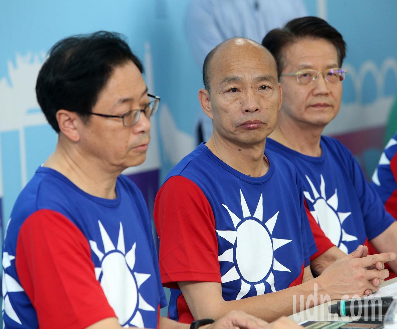 國民黨總統參選人韓國瑜。聯合報記者劉學聖/攝影