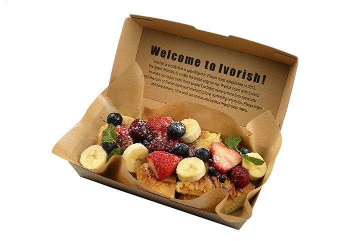Ivorish綜合莓果法式吐司,售價170元。圖/品牌提供