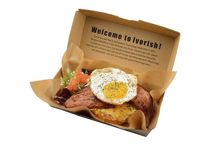 Ivorish庫克太太法式吐司,售價170元。圖/品牌提供