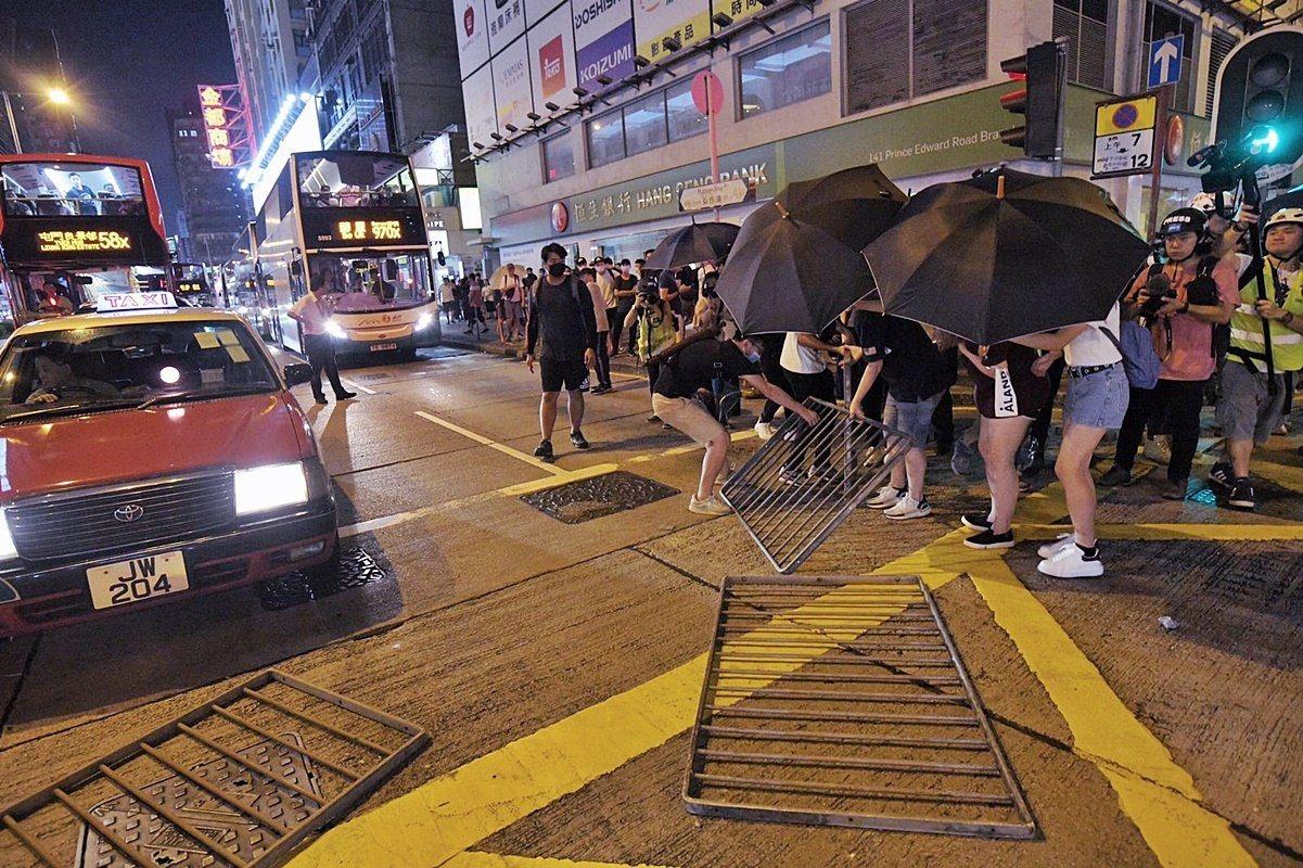 香港反送中運動已逾4個月。圖/取自星島日報