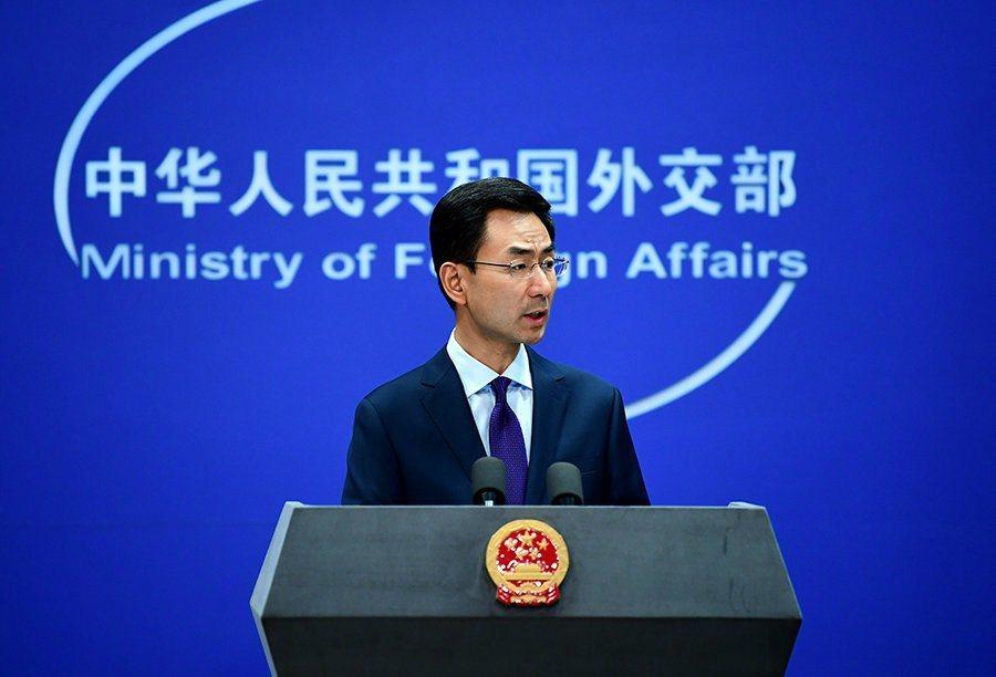 大陸外交部發言人耿爽。圖/取自中國大陸外交部官網