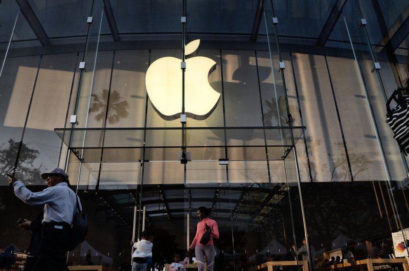 蘋果店面。圖/取自星島日報