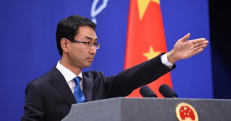 中國大陸外交部發言人耿爽。圖/取自中新網