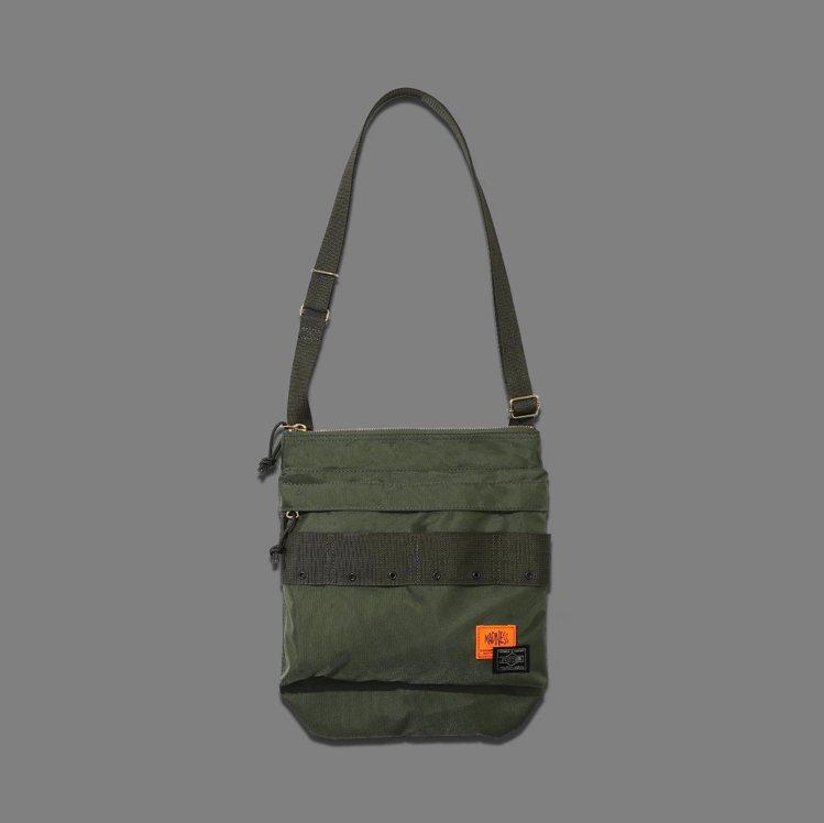 YOSHIDA PORTER與MADNESS聯名系列肩背包,7,800元。圖/P...