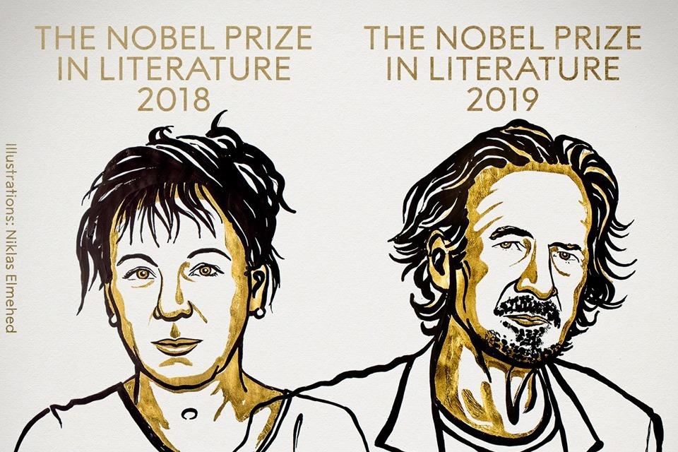 諾貝爾文學獎揭曉 波蘭女作家與奧地利作家獲獎