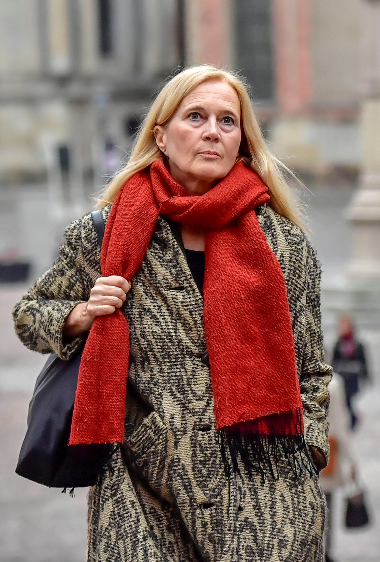 瑞典詩人福洛斯坦森因丈夫涉嫌性醜聞,已請辭瑞典學院院士。(路透)