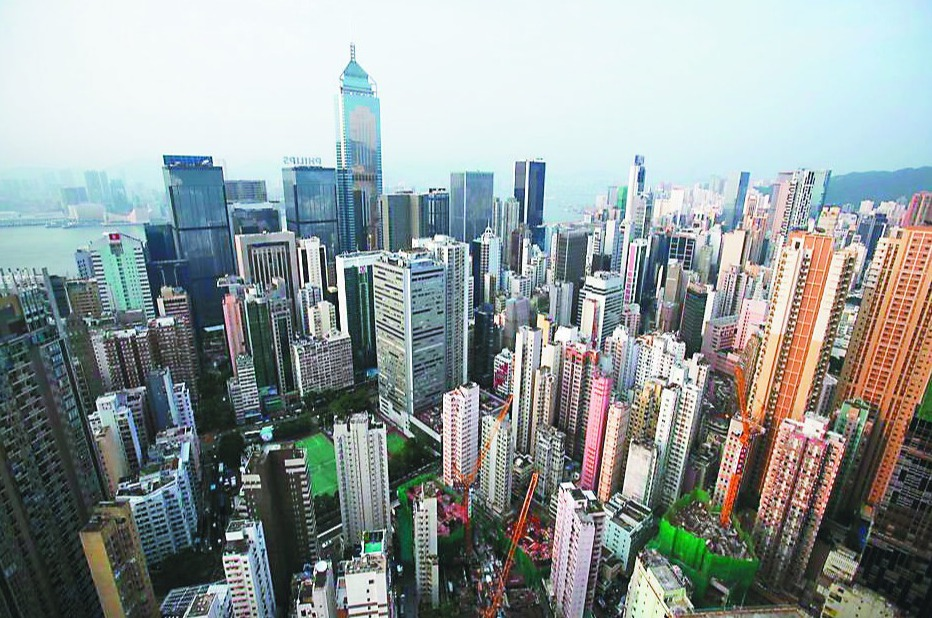 香港高樓大廈林立。圖/取自本報系資料照