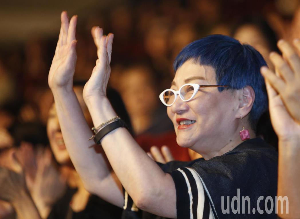 黃大煒晚上在TICC舉行演唱會,他感謝張小燕(圖)出席。記者鄭超文/攝影