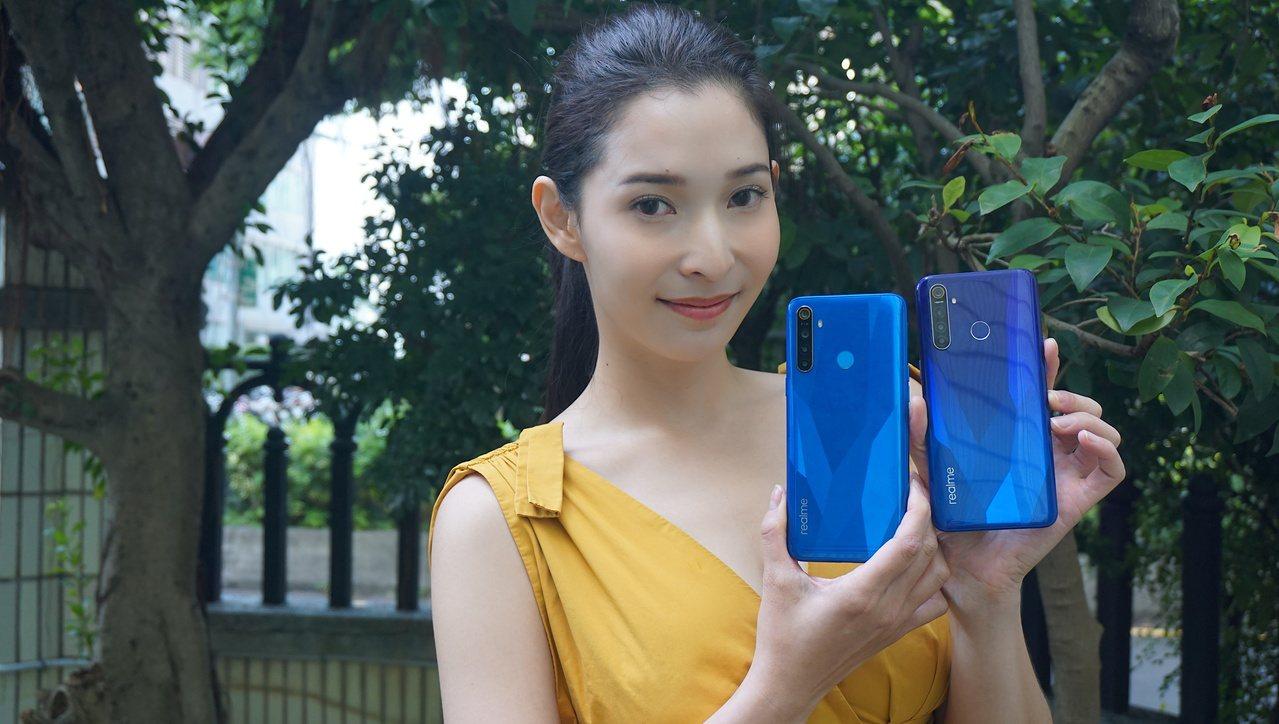 realme 5、realme 5 Pro預計將於10月底正式上市。記者黃筱晴/...