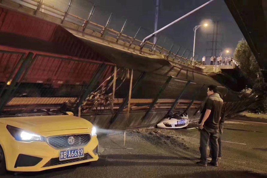 無錫倒塌高架橋工程僅用22個月 時任市長已落馬