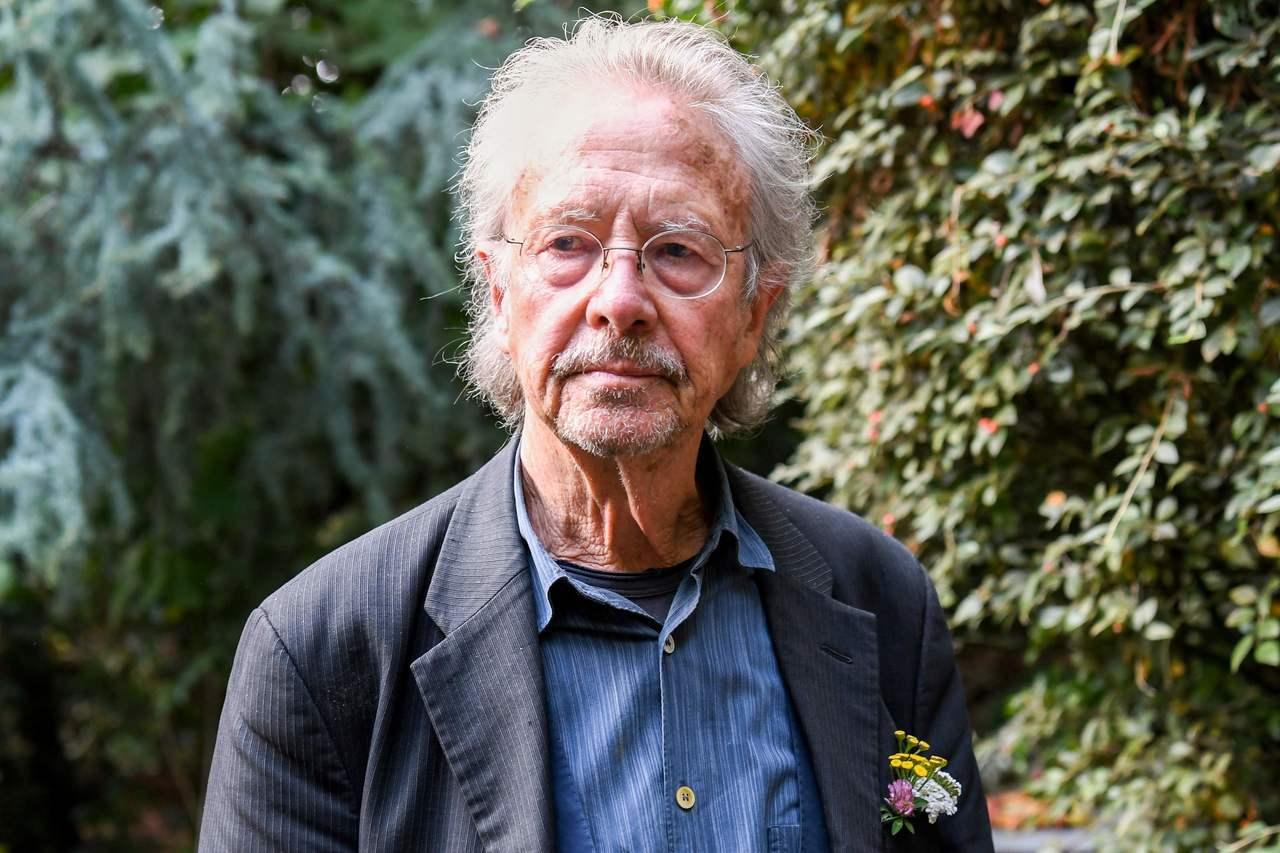 奧地利作家漢德克目前定居於法國巴黎近郊。(法新社)