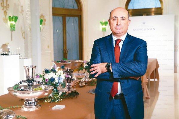 喬治傑生全球總裁Mr.FrancescoPesci專訪。 記者徐兆玄/攝影