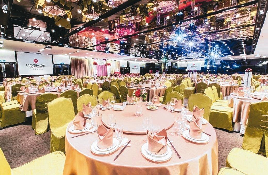 天成飯店TICC世貿會館宴會廳,氣派舒適。 業者/提供