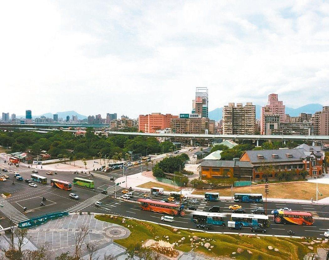 台北車站特專區E1、E2開發案。 本報系資料庫