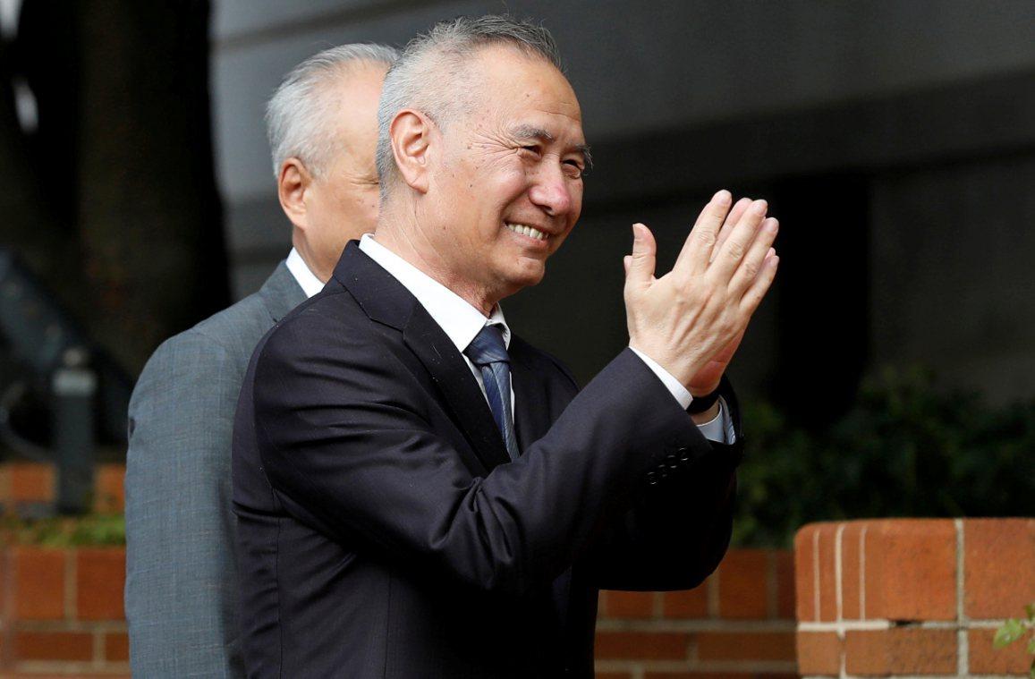 中國國務院副總理劉鶴於10日抵達美國華盛頓進行美中貿易談判。 路透社
