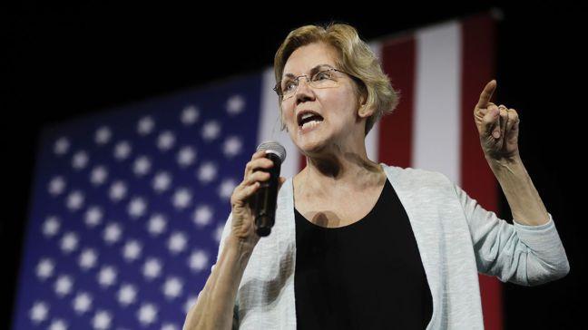 美國參議員華倫問鼎白宮聲勢日漲,由於她主張大刀闊斧改革,包括分拆科技巨人和對大企...