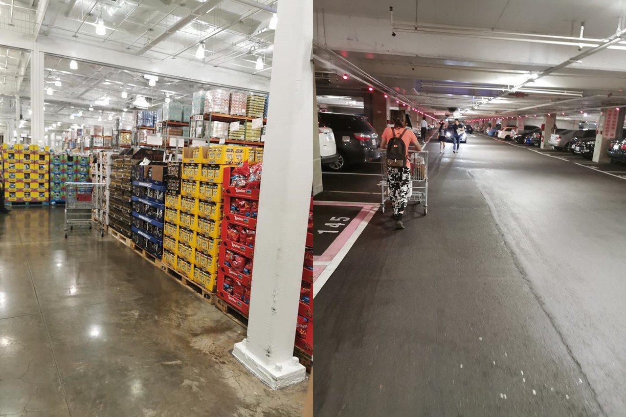 好市多中和店本月1日起加收停車費,有網友發現新制上路後停車位變得好找,賣場內人潮...