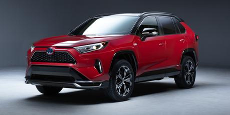挑戰全球插電休旅霸主 全新Toyota RAV4 Plug-in Hybrid洛杉磯車展確定發表!