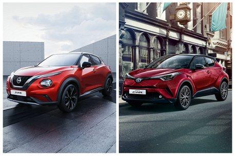 Nissan Juke和Toyota C-HR都不是老美的菜!主力都設定在歐洲市場