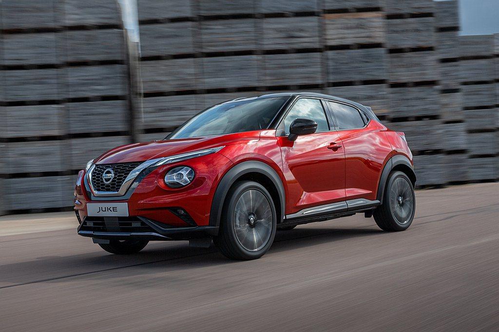 全新Nissan Juke不僅車身尺碼放大,透過集團新CMF-B底盤平台搭配下,...
