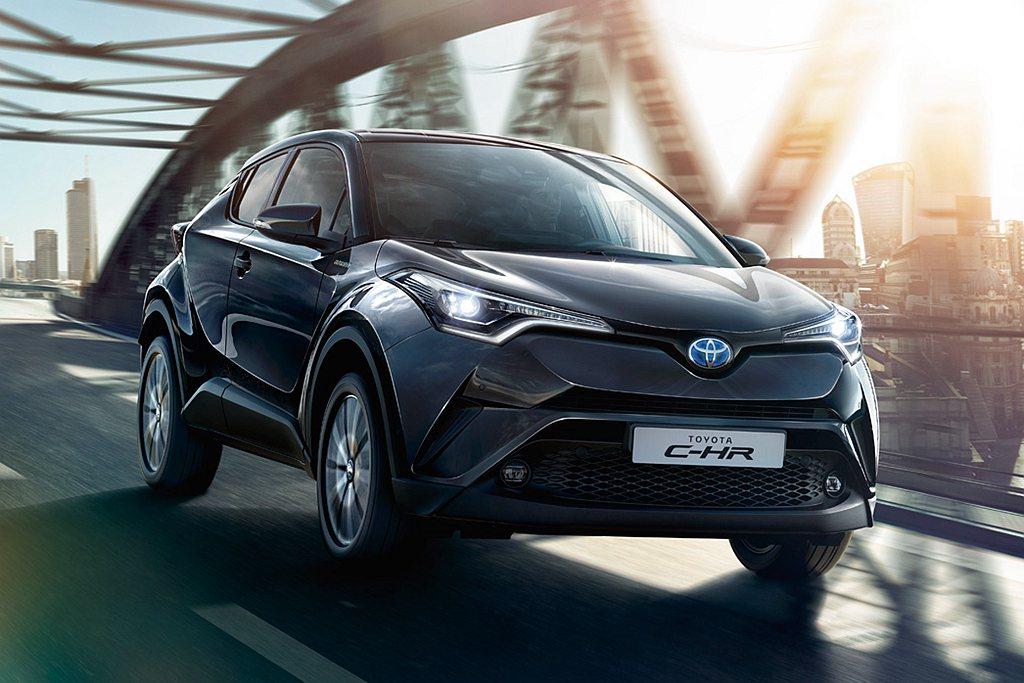 日系品牌小型跨界休旅,就以Toyota C-HR於歐洲地區表現最亮眼,且有高達8...