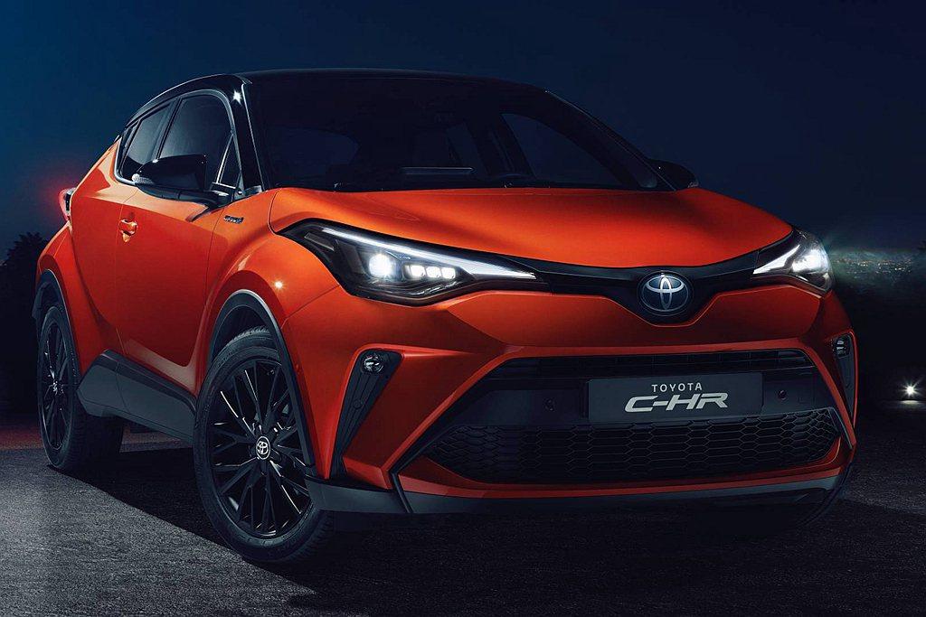 小改款Toyota C-HR歐洲銷售主力以1.8L Hybrid複合動力為主,具...