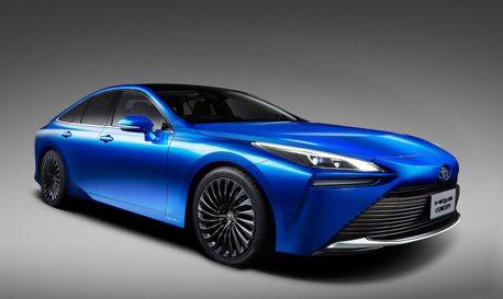 改搭後驅的氫燃料車 第二代Toyota Mirai概念版搶先曝光!