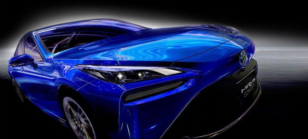 全新第二代Toyota Mirai先以概念車之姿搶先在十月底舉辦的東京車展前亮相...