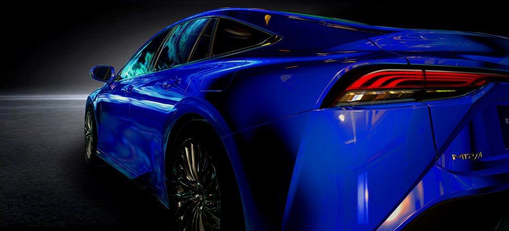 第二代Toyota Mirai將於十月底舉行的東京車展中正式亮相。 摘自Toyo...