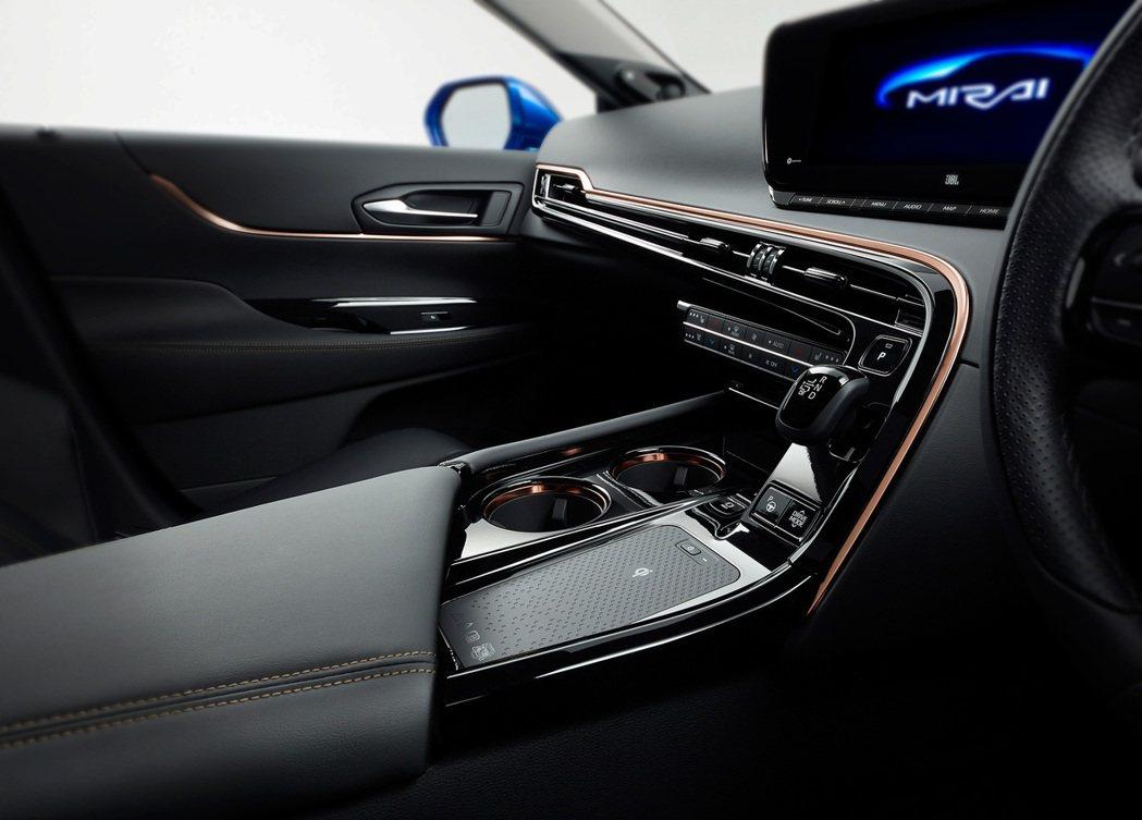 Toyota Mirai Concept 內裝。 摘自Toyota