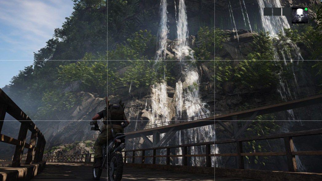 遊戲中設有相機模式,滿足玩家的拍照欲望,想要練習構圖也不是問題喔 😊