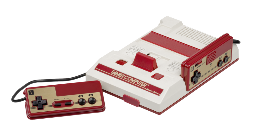 任天堂紅白機(Nintendo Family Computer)(圖片來源:WI...