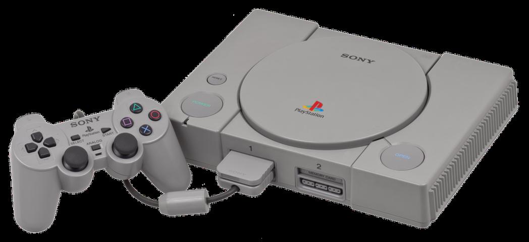 Sony PlayStation主機。(圖片來源:WIKI)