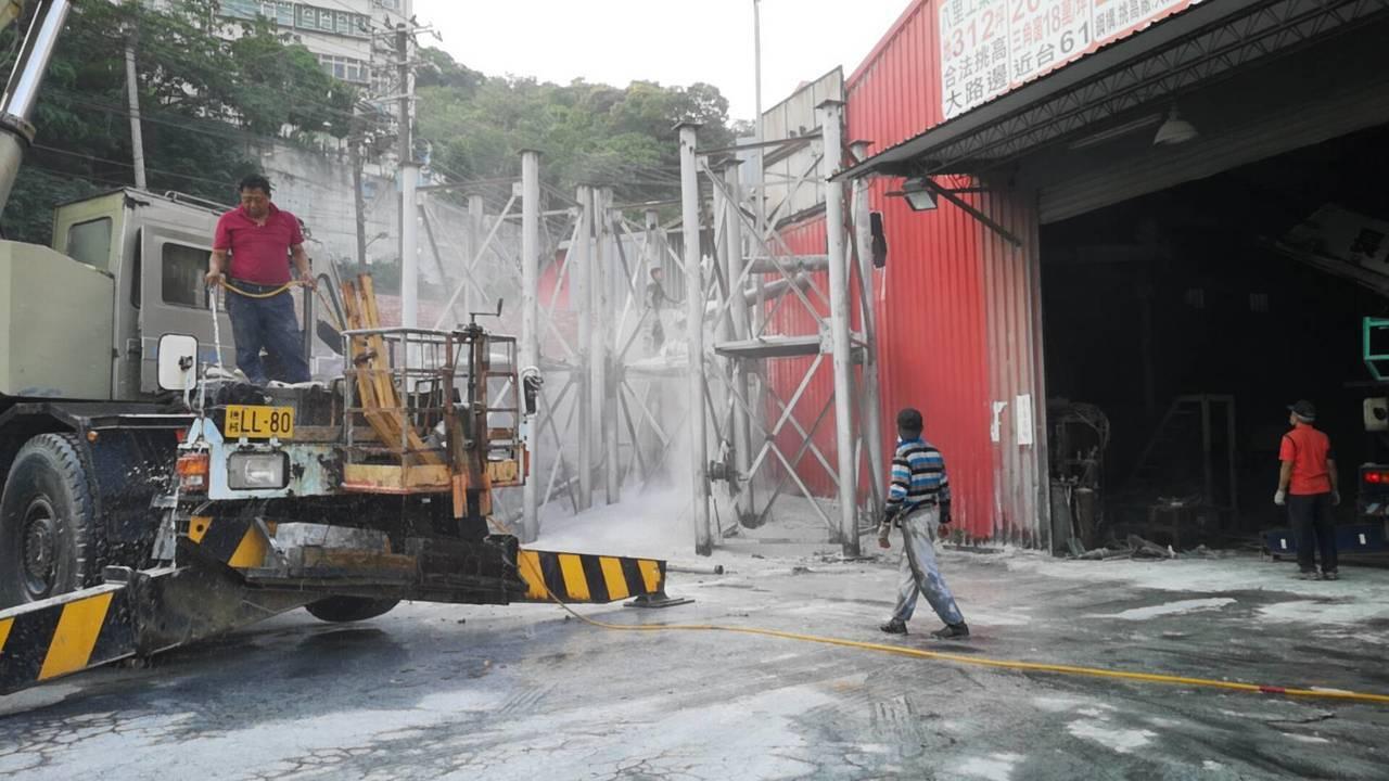龜山塗料廠拆桶裝槽釀空汙 桃市最重可罰500萬元