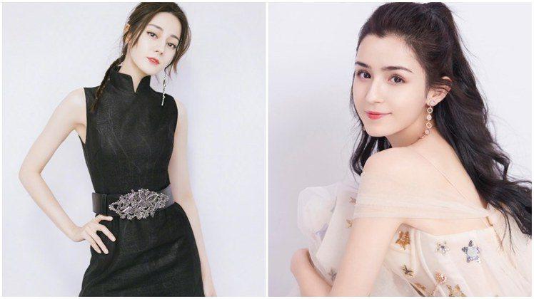 迪麗熱巴,在美女排行榜上敗給了同鄉的新人哈妮克孜。圖/摘自微博