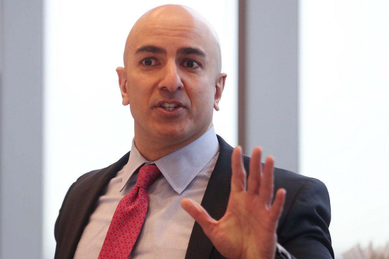 明尼亞波利聯準銀行總裁凱什卡利(Neel Kashkari)。 路透