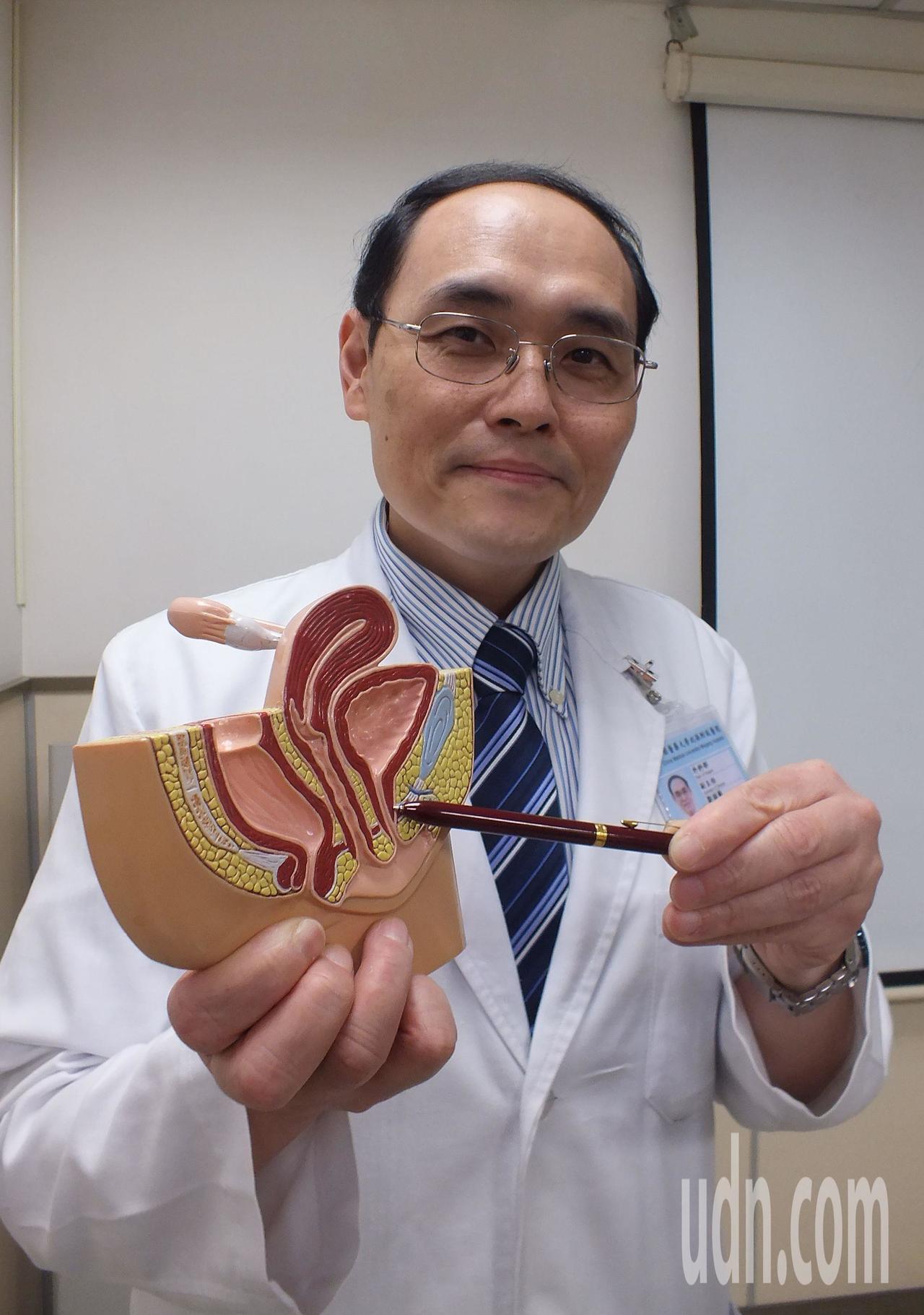 醫師鄒頡龍說明,生產過後、肥胖都會增加漏尿機會,建議婦女平時可加強骨盆底肌肉收縮...