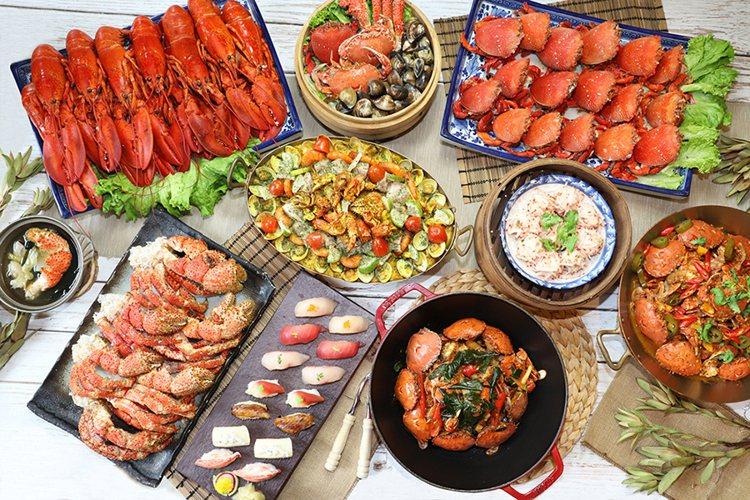 秋天是品蟹的最佳時節,台中林酒店森林百匯即日起至11月15日推出「感蟹祭」,推出...