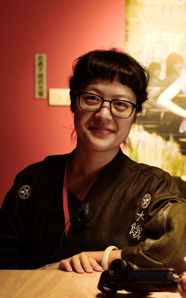 新銳導演謝沛如將自身的減肥經驗拍成電影「大餓」。圖/一晌電影提供