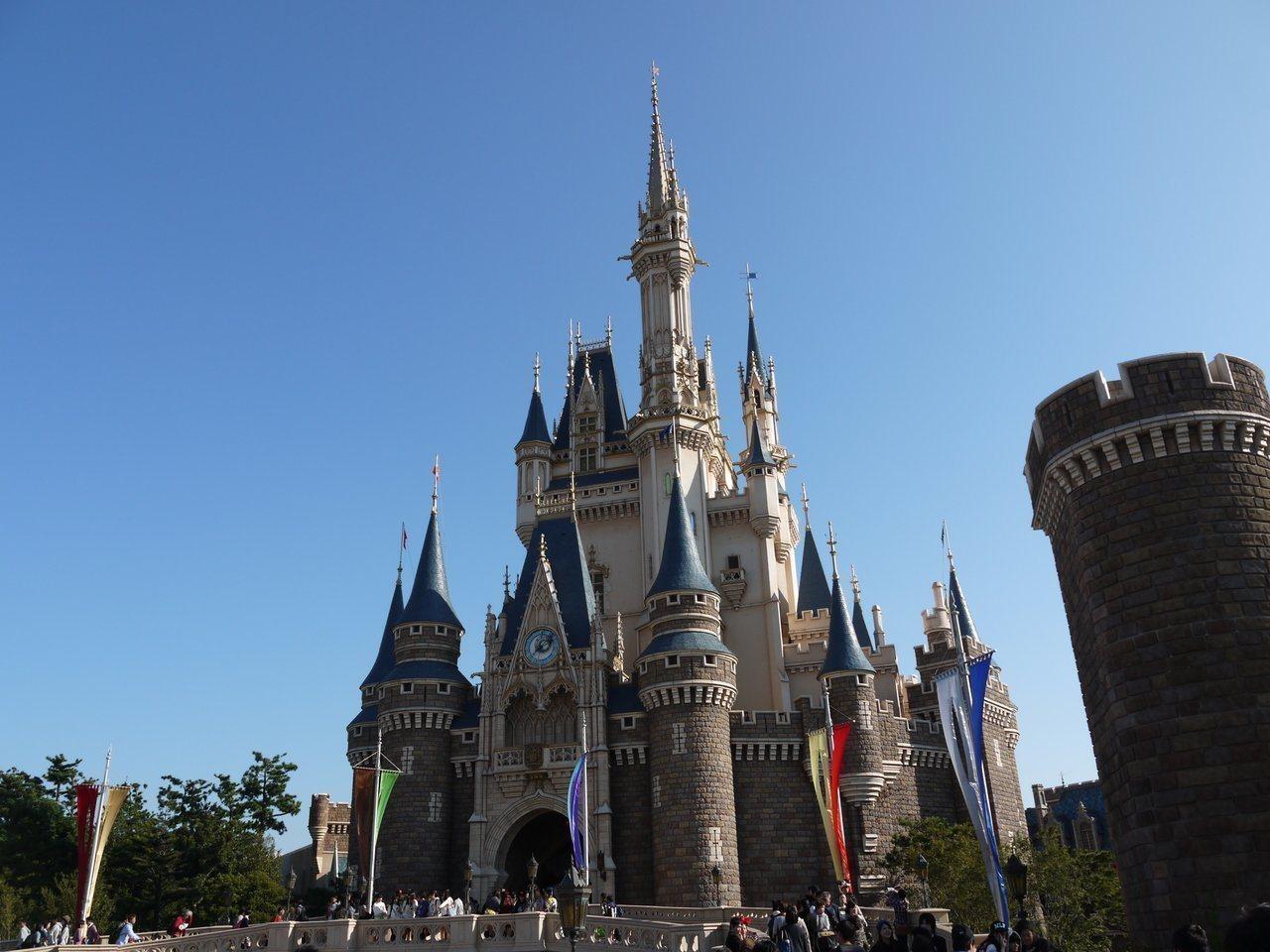 東京迪士尼樂園。圖/讀者陳水草提供