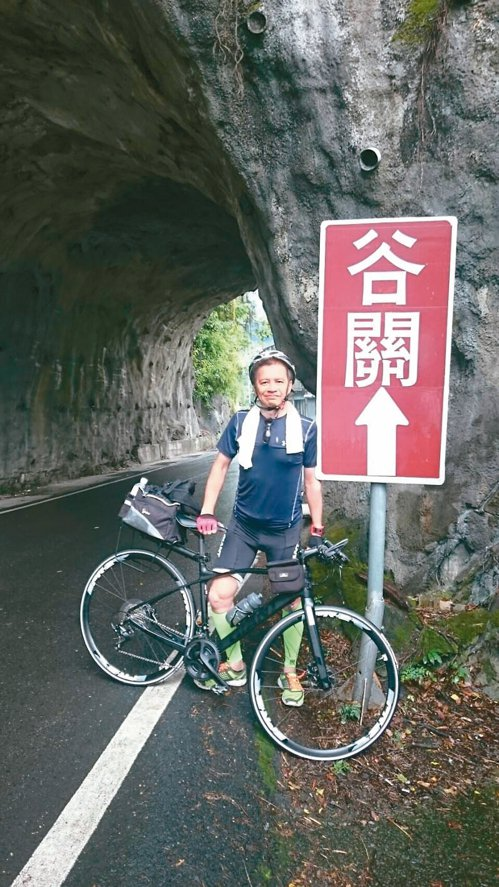人生的「第3個25年」,曾文誠開始騎單車。 圖╱曾文誠提供