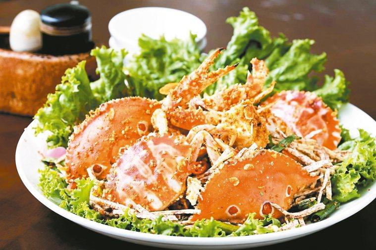 螃蟹。 圖/新北市農業局提供