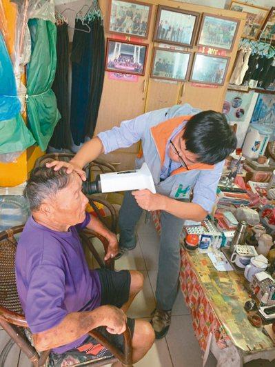 台北市立聯合醫院推行「居家醫療」,將服務擴大到連江縣東引鄉。 圖/北市聯醫提供