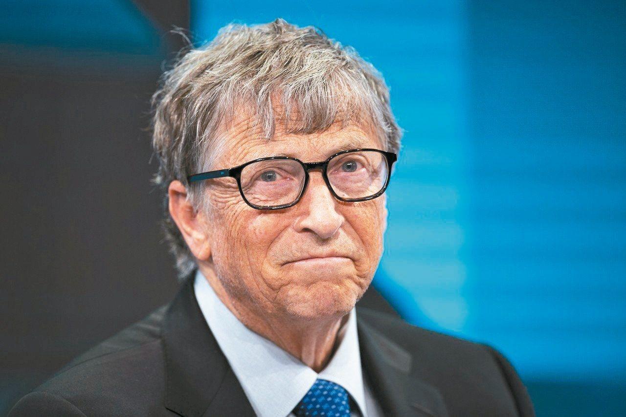 微軟創辦人比爾蓋茲與妻子成立蓋茲基金會,協助聯合國永續發展目標。 (歐新社資料照...
